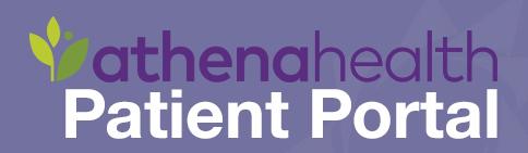 Athena Health client portal